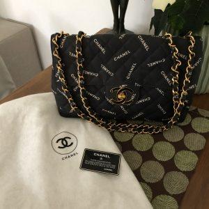 """""""Chanel"""" Jumbo Flap Bag"""
