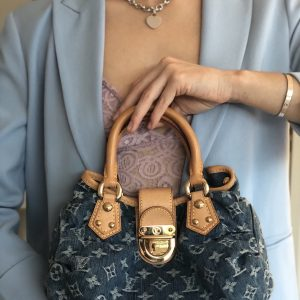 """Louis Vuitton Mini Pleaty"", Denim"