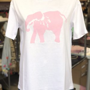 T-Shirt mit Print (Elefant)