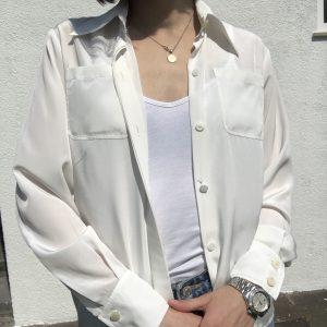 """Chanel"" Uniform Bluse"